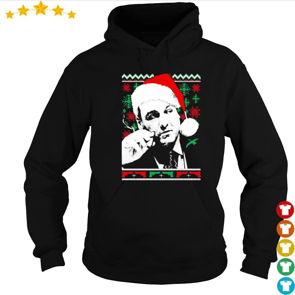 Official Tony Santa Claus merry Christmas sweater hoodie