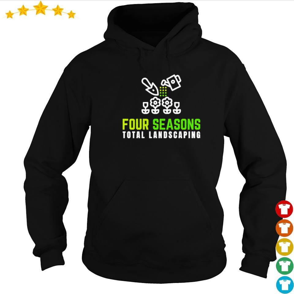 Planting flowers four seasons total landscaping s hoodie