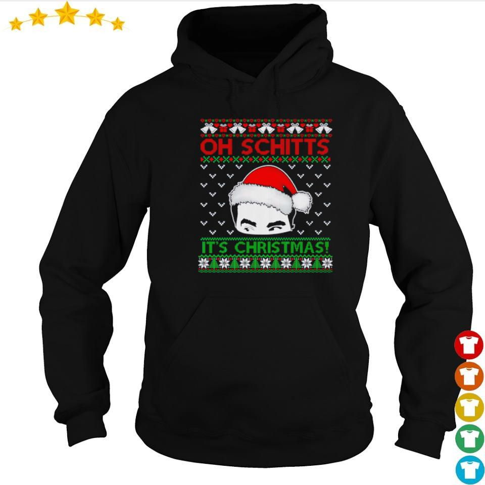 Santa David oh Schitt's it's Christmas sweater hoodie