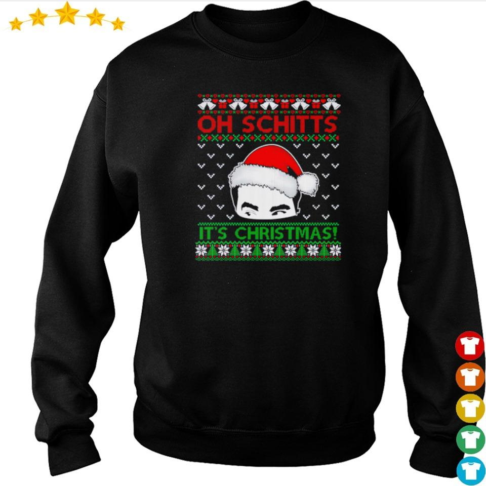 Santa David oh Schitt's it's Christmas sweater