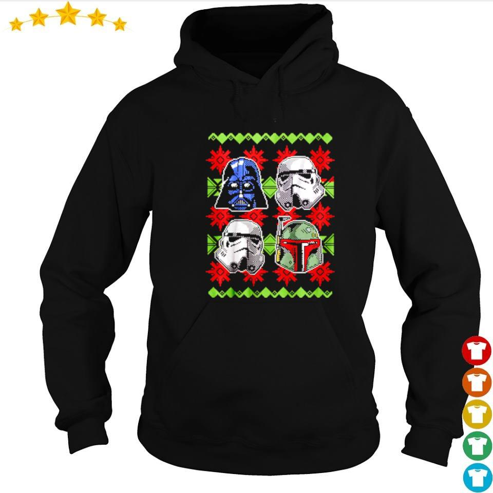 Star Wars empire helmets merry Christmas 2020 sweater hoodie