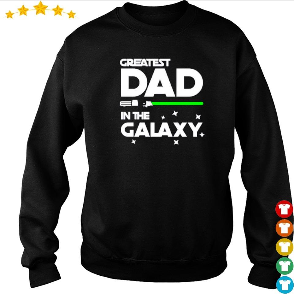 Star Wars greatest dad in the galaxy s sweater