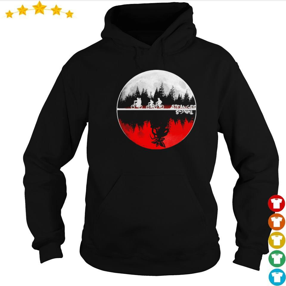 Stranger Things red moon s hoodie