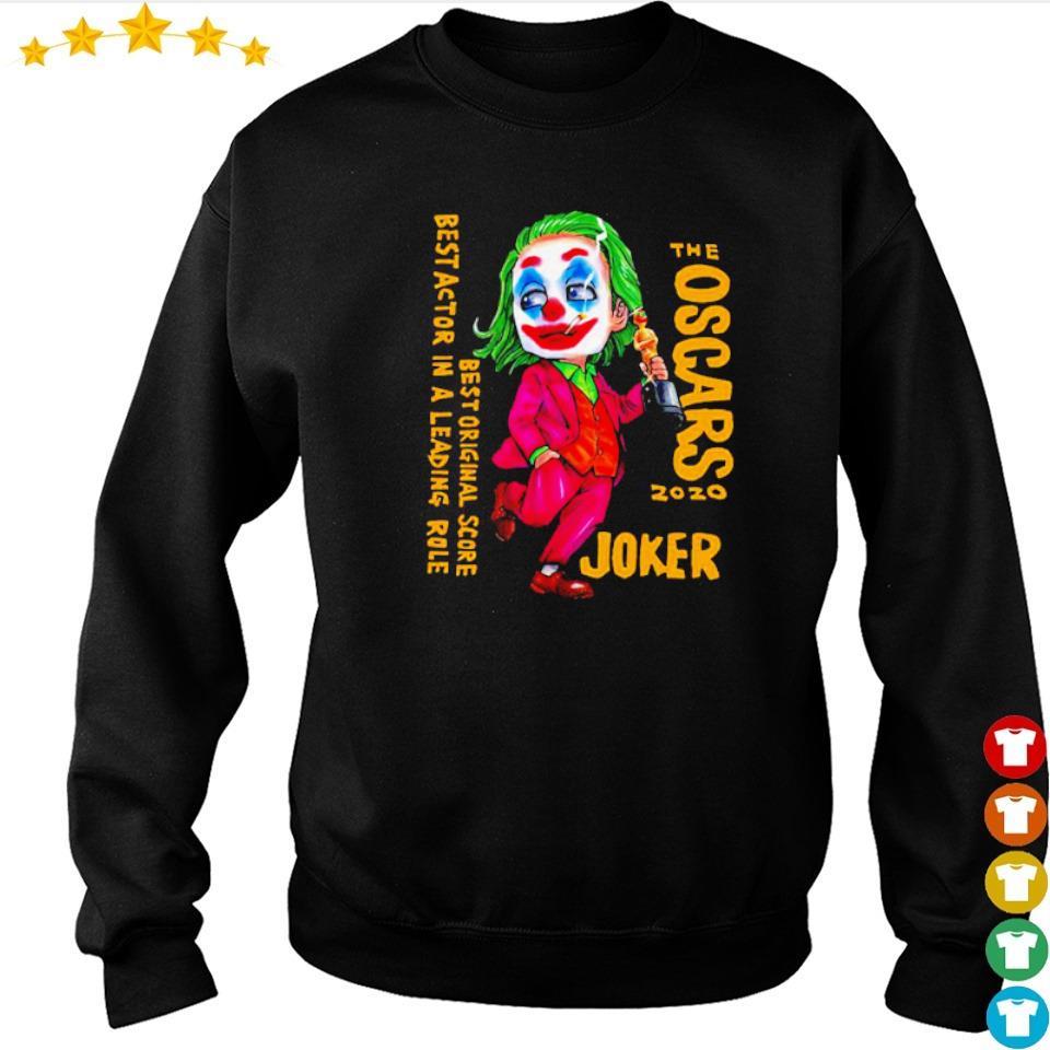 The Oscars 2020 Joker best original score best actor in a leading role s sweater