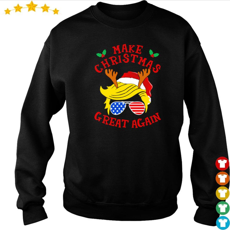 Trump support make Christmas great again sweater