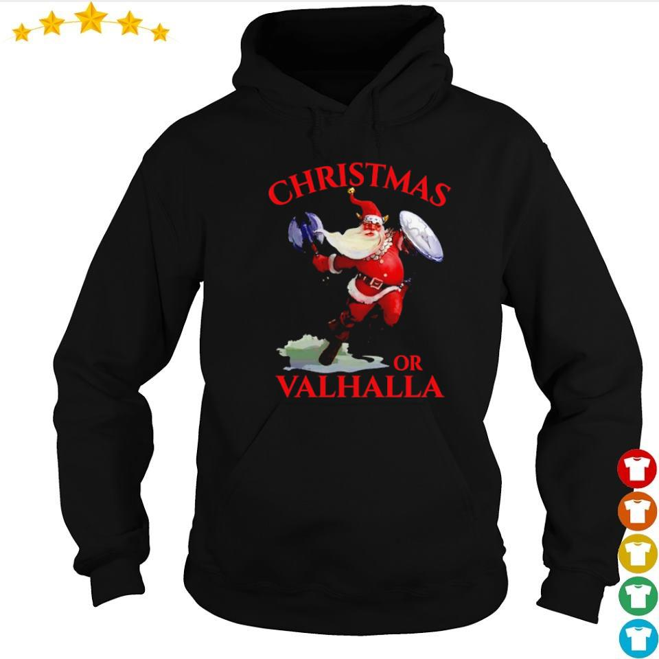 Viking Santa Claus Christmas or Valhalla sweater hoodie