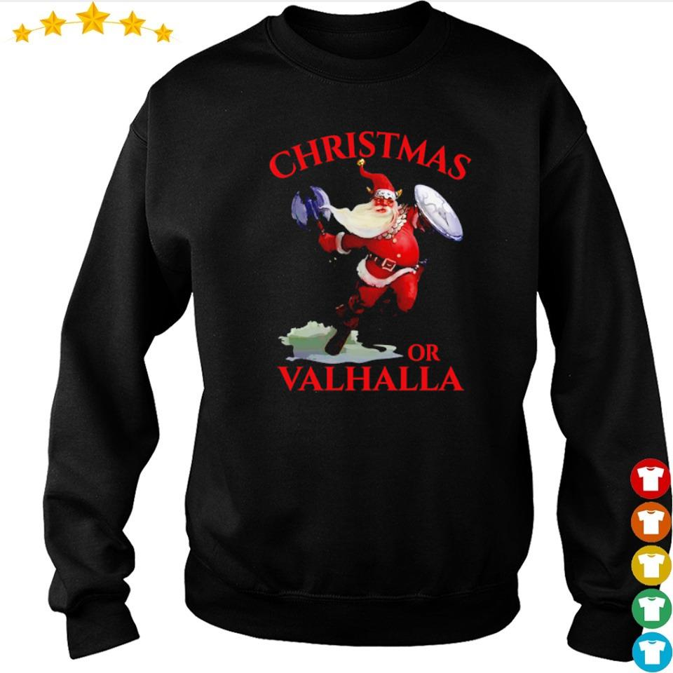 Viking Santa Claus Christmas or Valhalla sweater