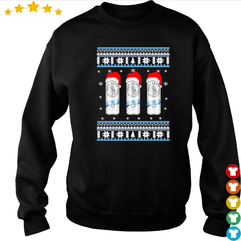 White claw pure merry Christmas sweater