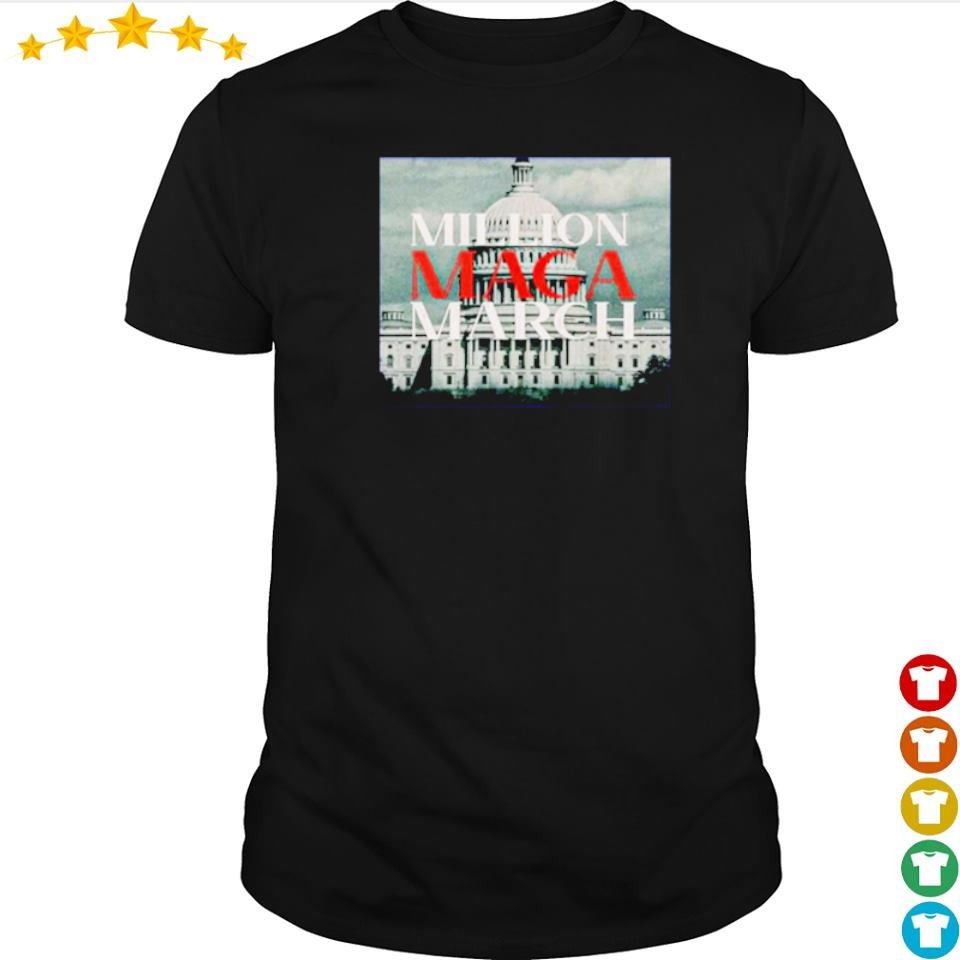 White House million maga march shirt