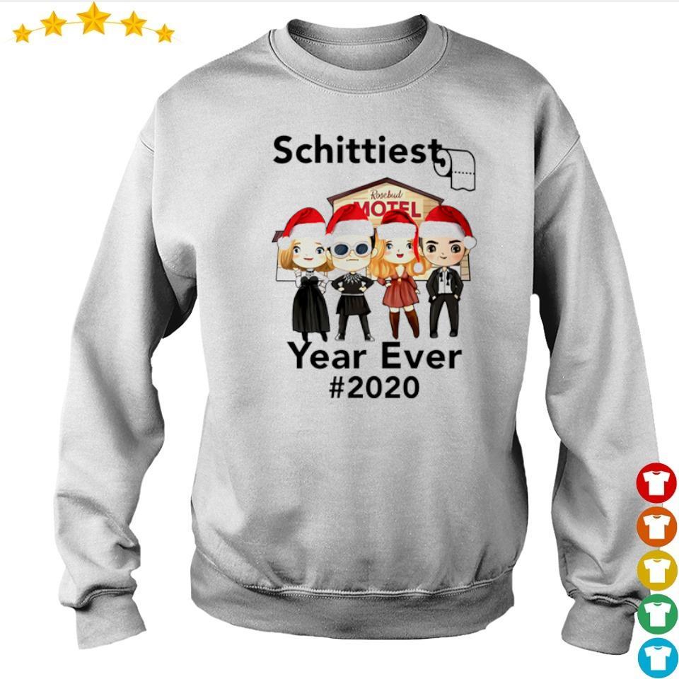 Motel Schittiest year ever 2020 rosebud Christmas sweater