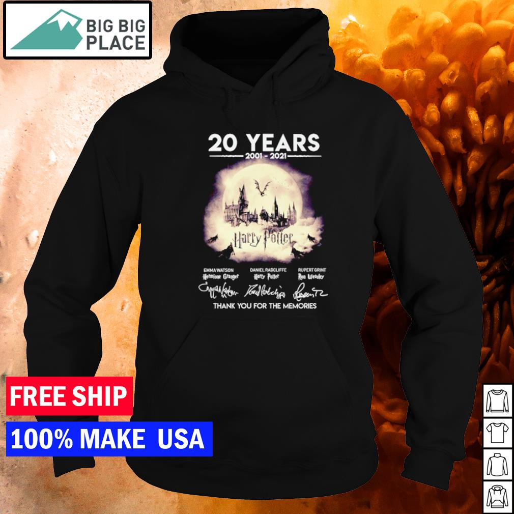 20 years of Harry Potter thank you for the memories s hoodie