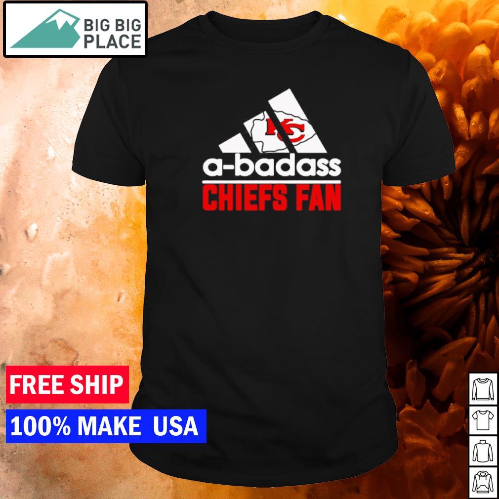 Adidas a-badass Chiefs fan Kansas City Chiefs shirt