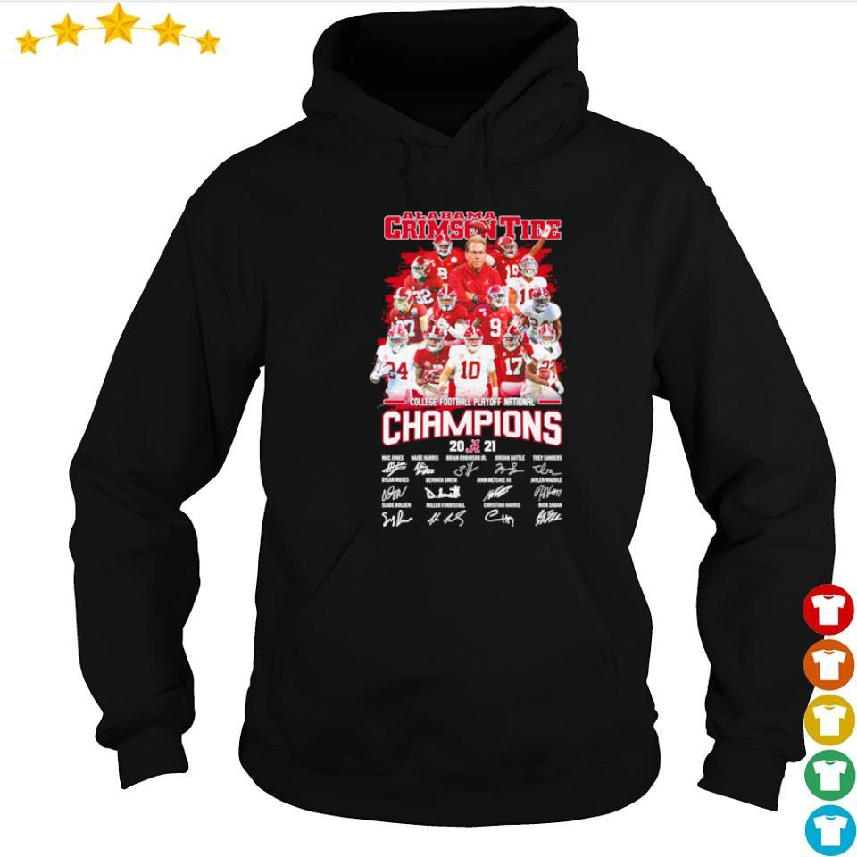 Alabama Crimson Tide College Football Playoff National Champions 2021 s hoodie
