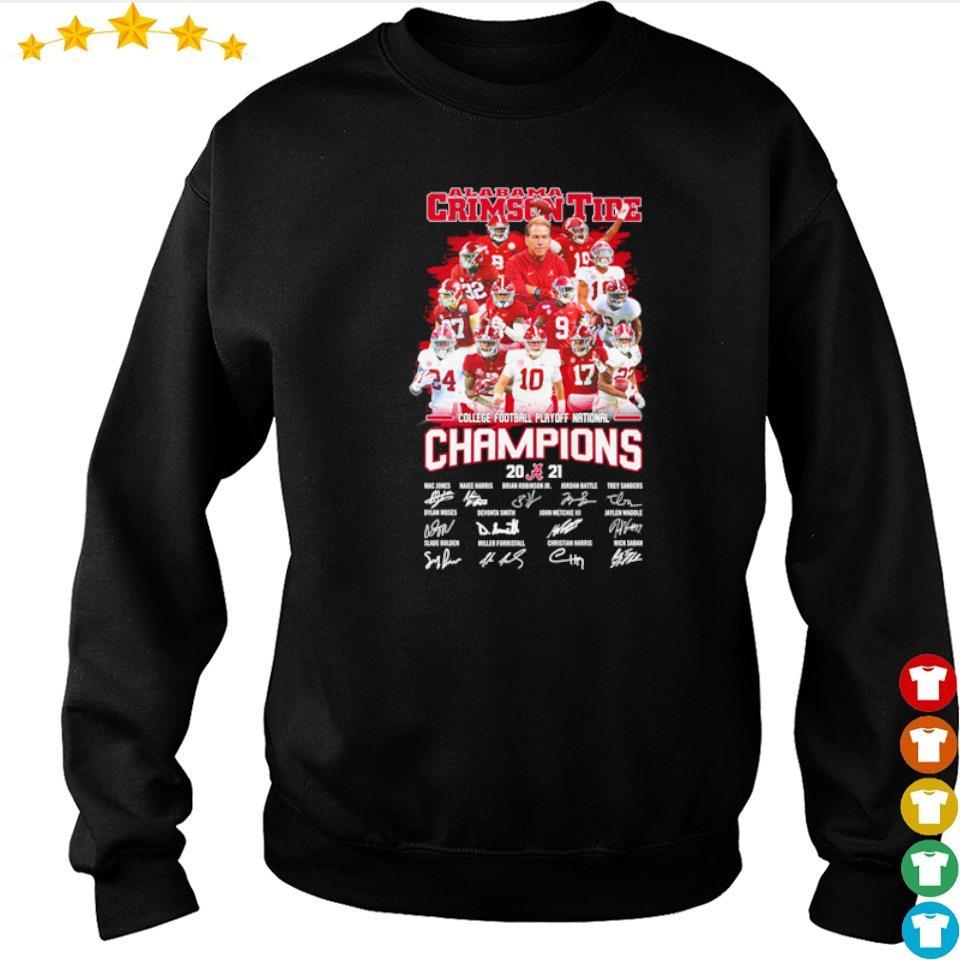 Alabama Crimson Tide College Football Playoff National Champions 2021 s sweater