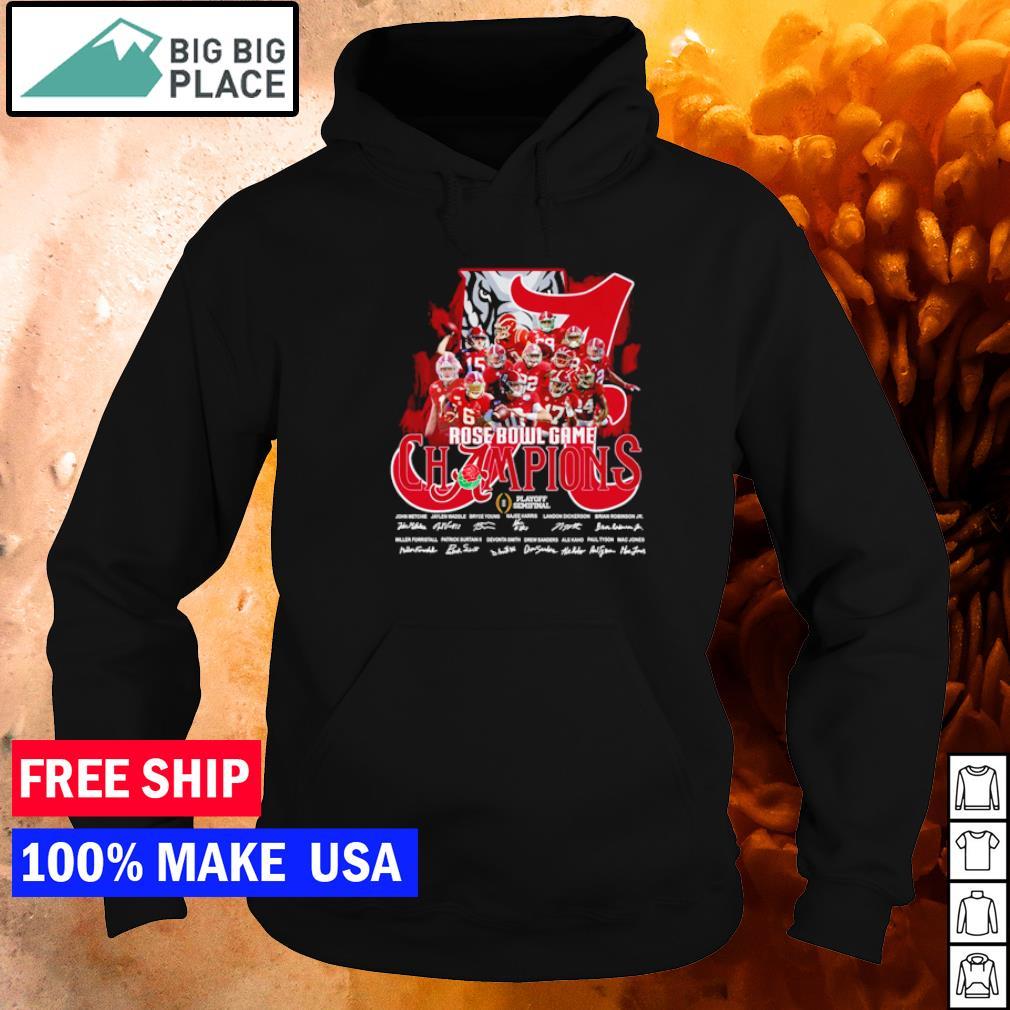 Alabama Crimson Tide Rose Bowl Game Champions Playoff Semifinal s hoodie