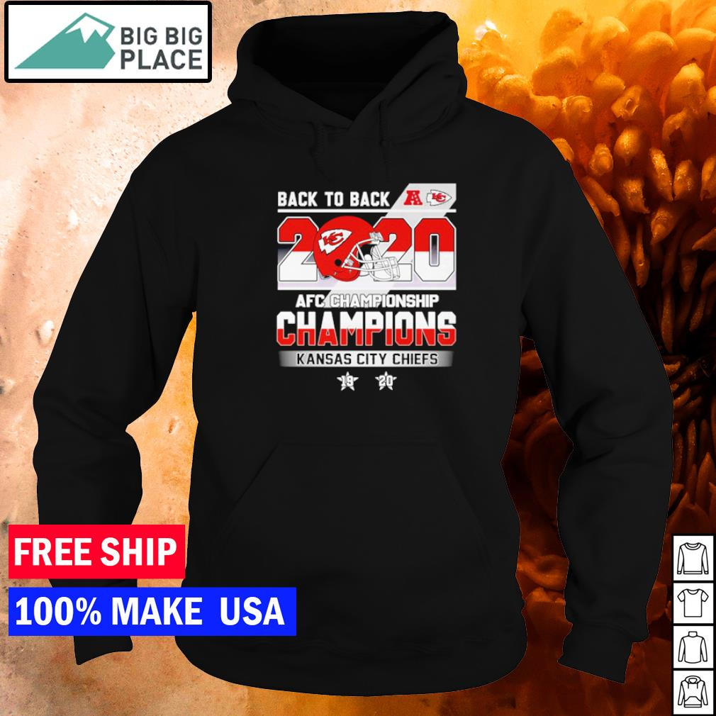 back to back AFC Championship Champions Kansas City Chiefs s hoodie