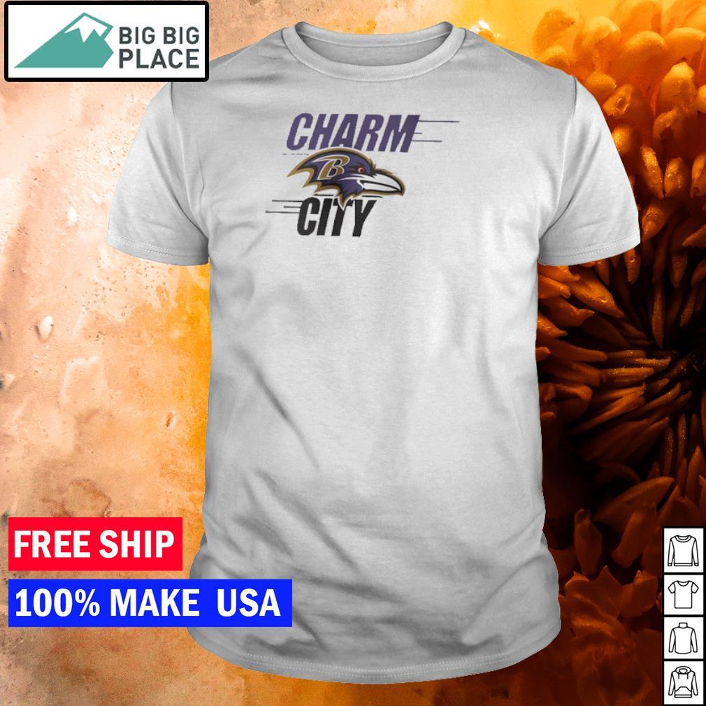 Baltimore Ravens charm city shirt