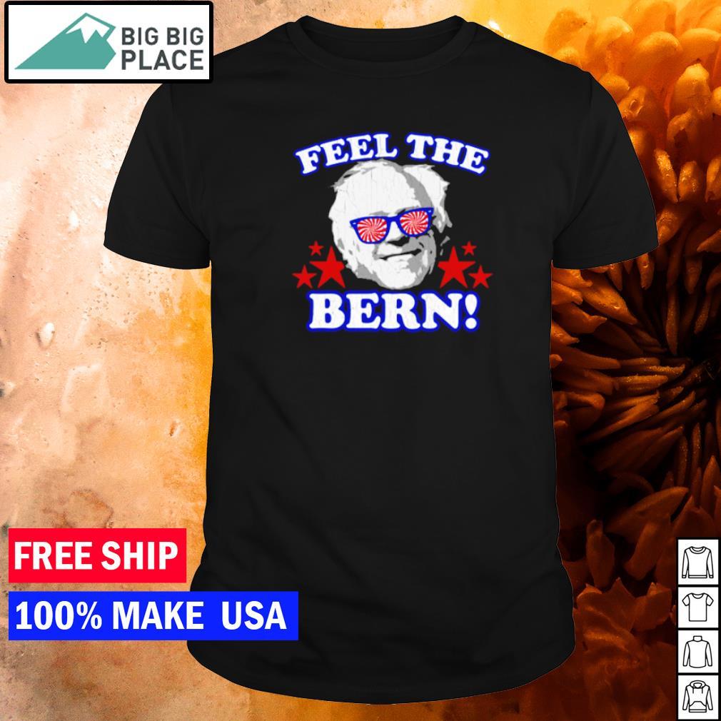 Bernie Sanders meme feel the bern inauguration's day shirt