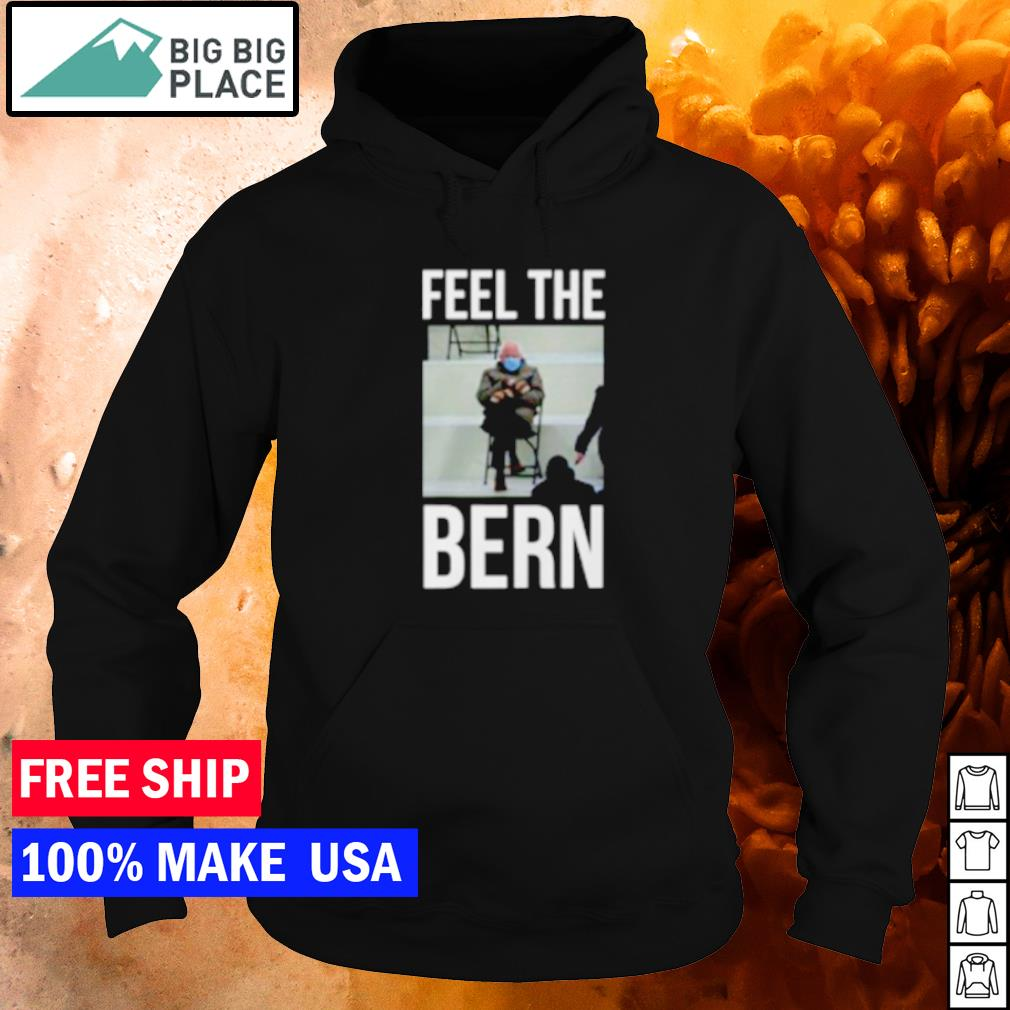 Bernie Sanders meme feel the bern s hoodie