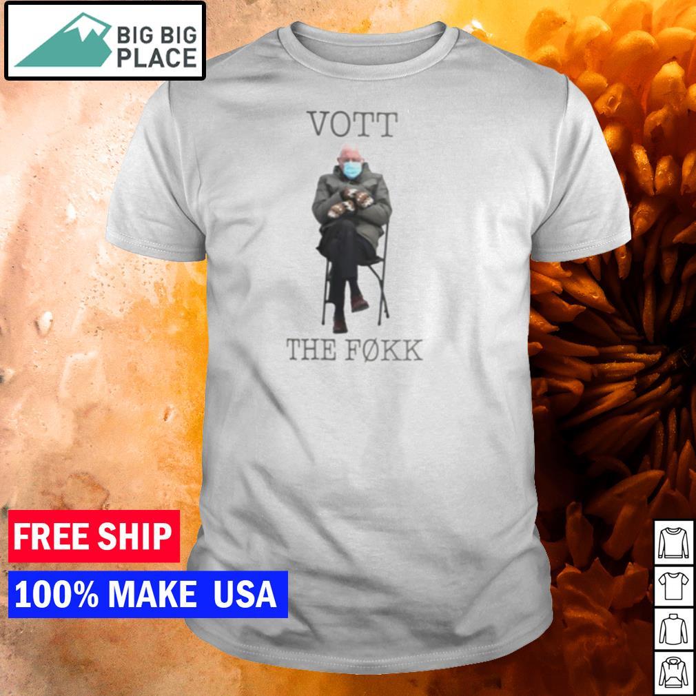 Bernie Sanders meme vott the fokk shirt