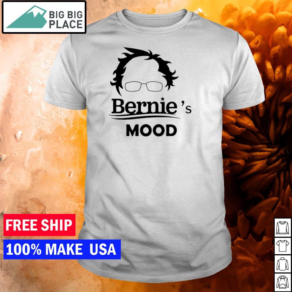 Bernie Sanders's mood shirt