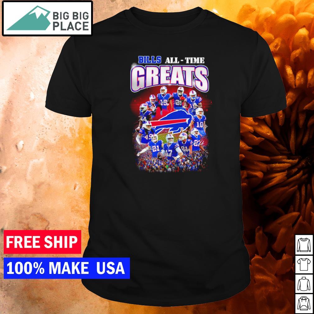 Buffalo Bills All-Time Greats player's signature NFL shirt