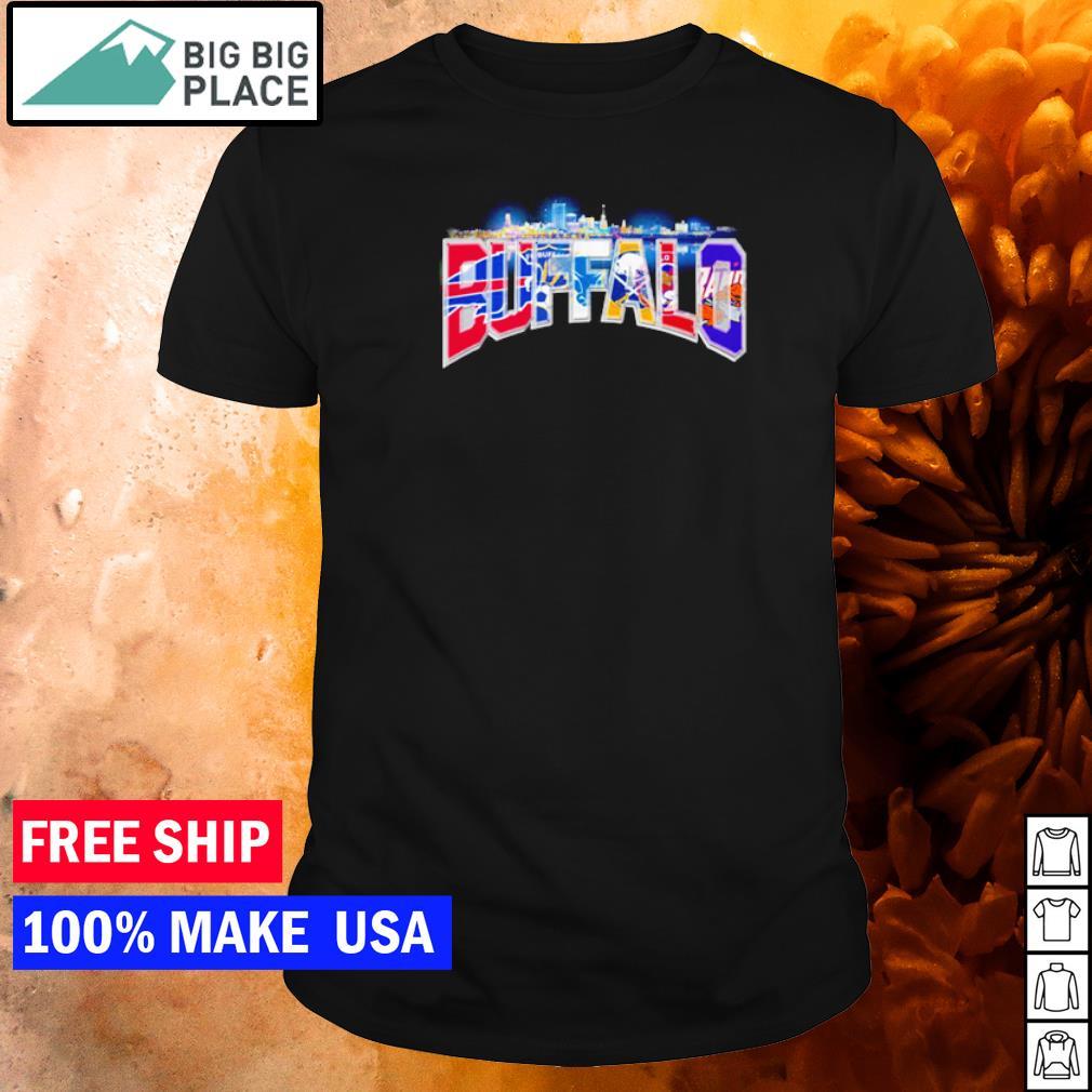 Buffalo Bills FC Sabers and Bisons sport teams shirt
