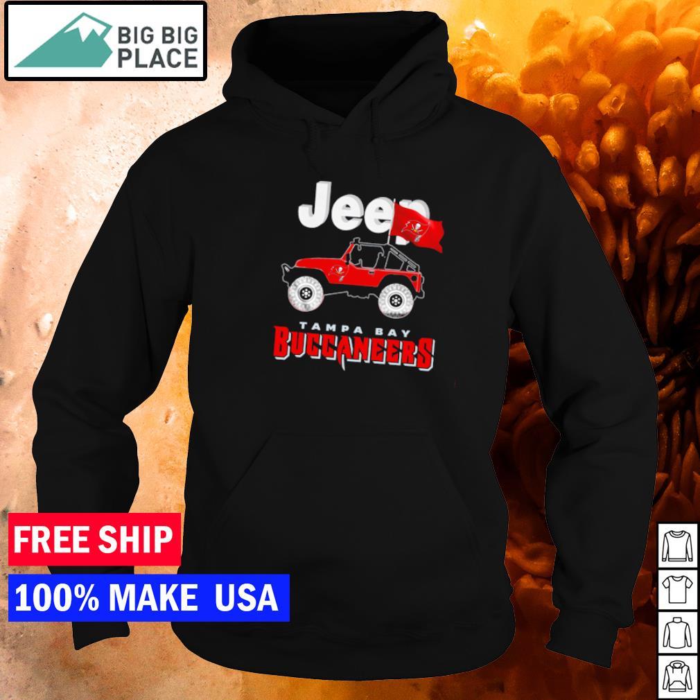 Champion Tampa Bay Buccaneers and Jeep hirt hoodie