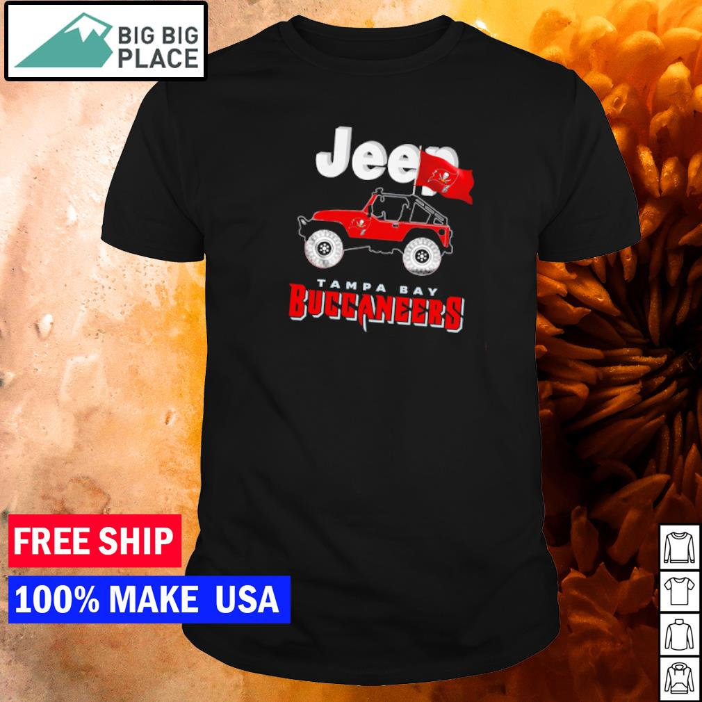 Champion Tampa Bay Buccaneers and Jeep hirt