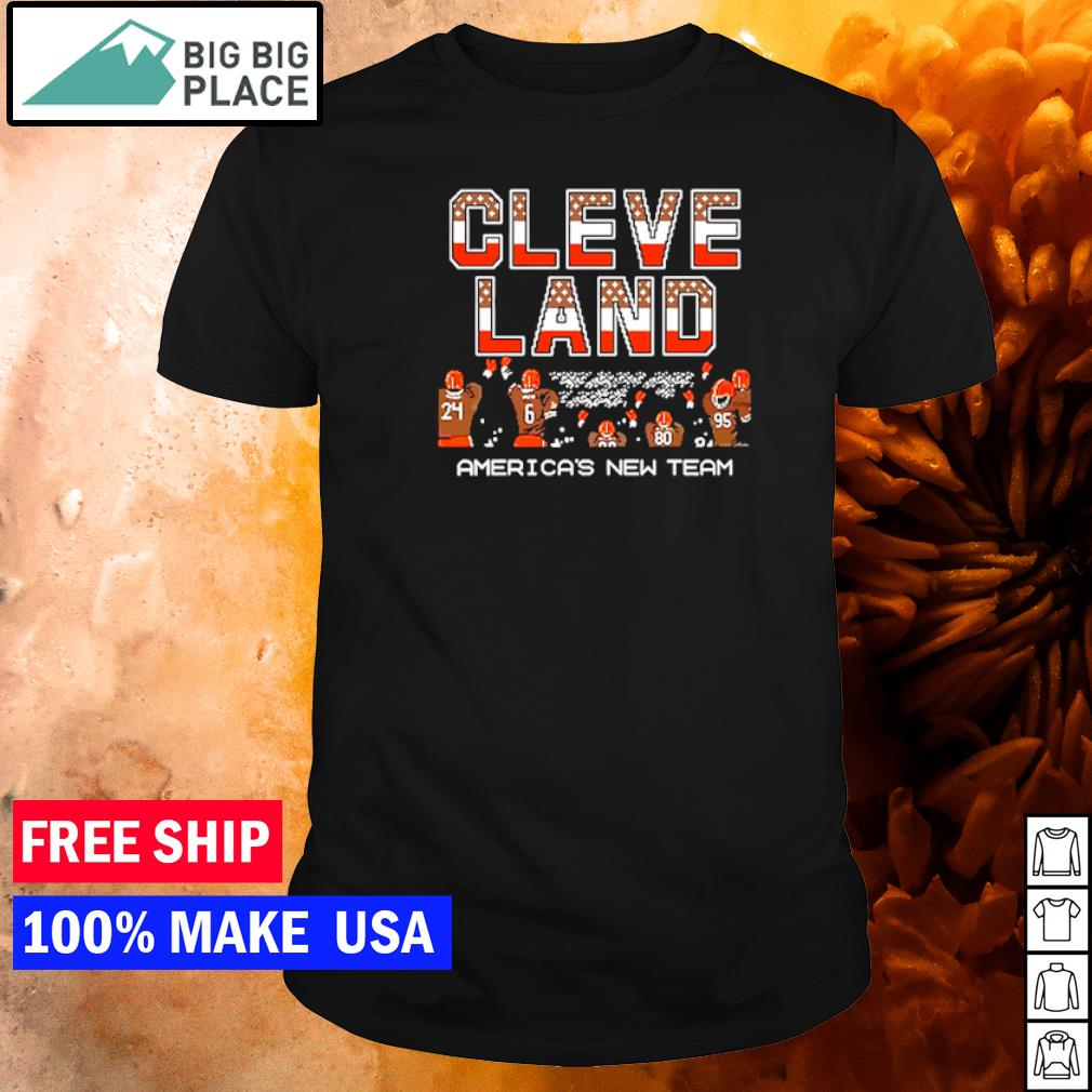 Cleveland Browns American's new team Champion NFL shirt