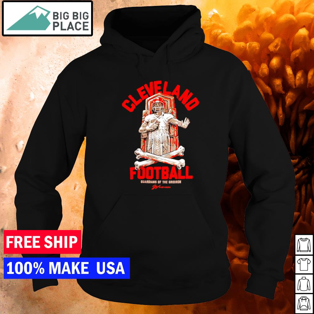 Cleveland Browns football guardians of the gridiron s hoodie
