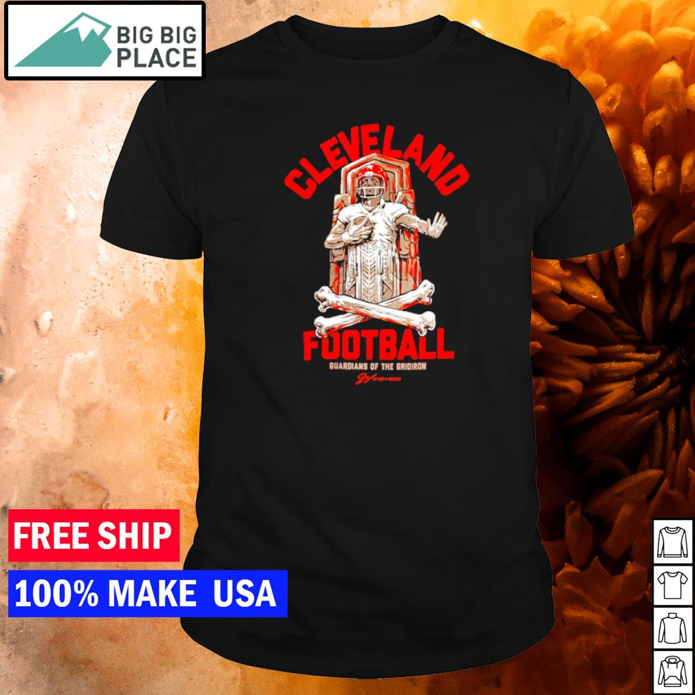 Cleveland Browns football guardians of the gridiron shirt