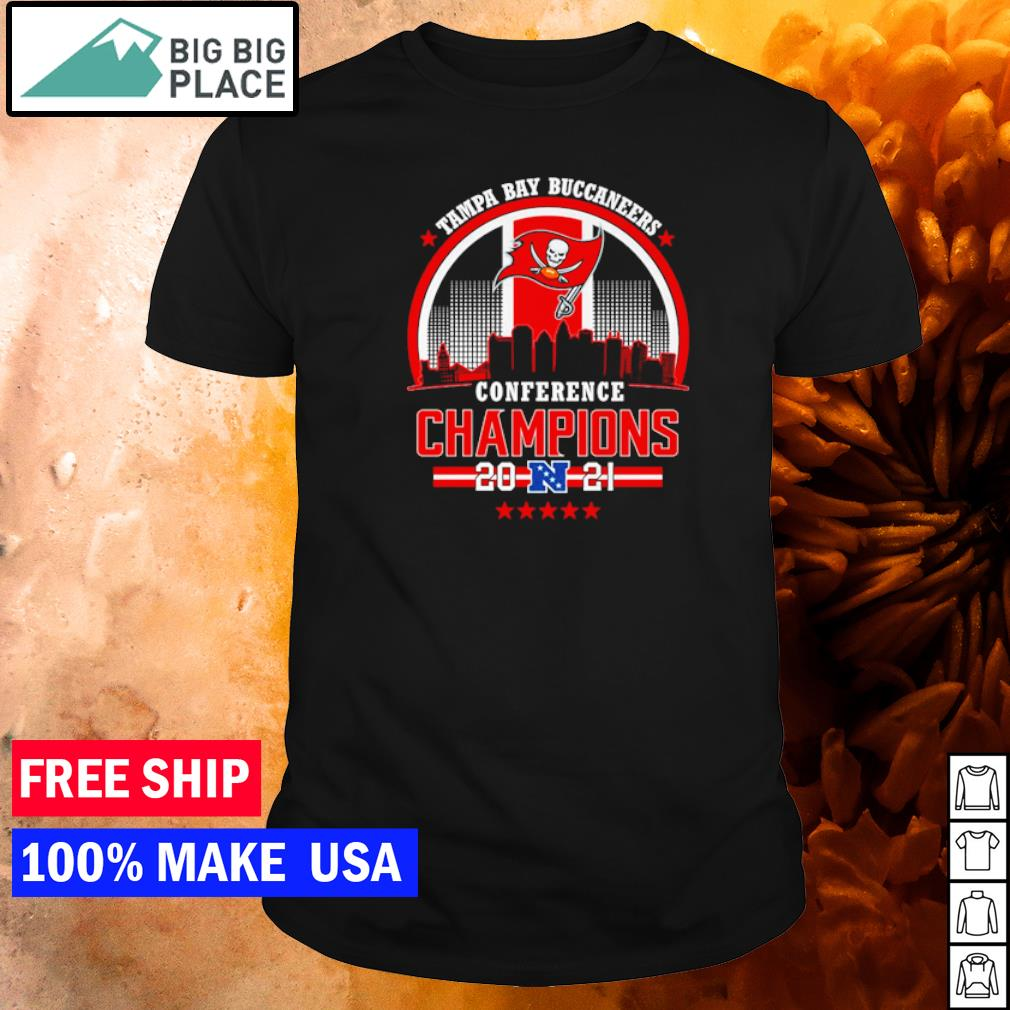 Conference Champions 2021 Tampa Bay Buccaneers shirt