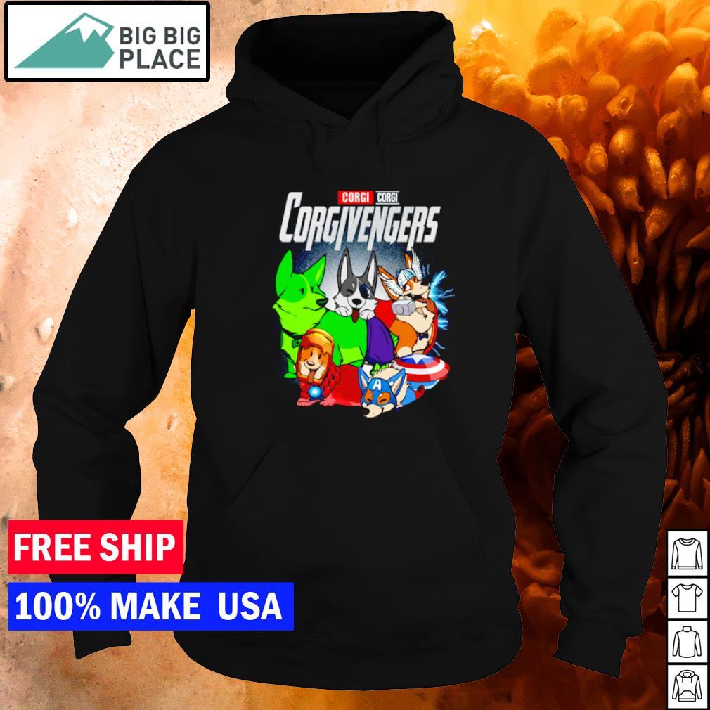 Corgi Corgi Corgivengers s hoodie