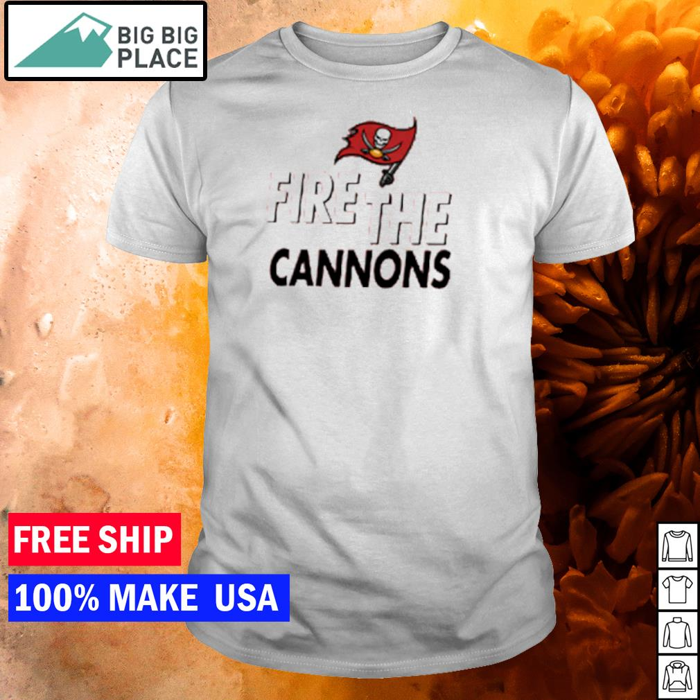 Fire the cannons Tampa Bay Buccaneers NFL shirt