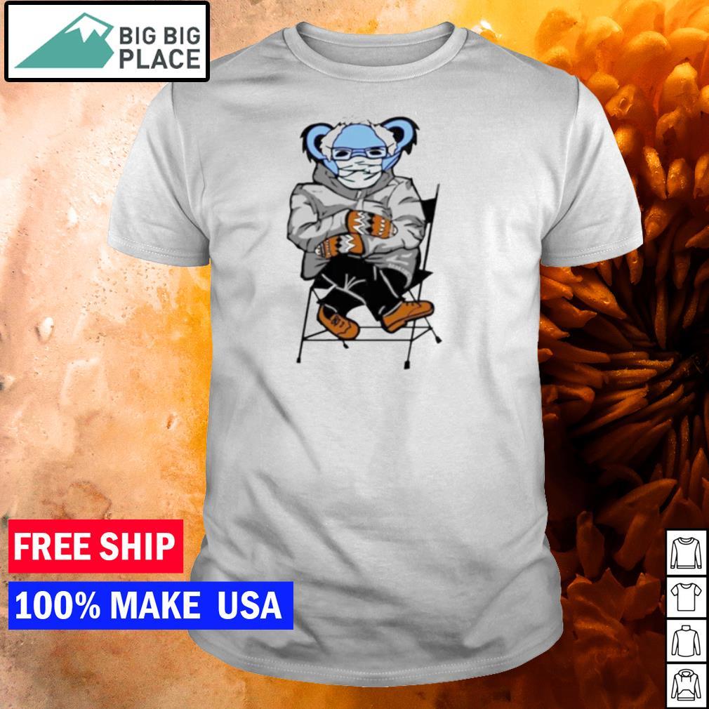 Grateful Dead Bernie Mittens bear meme shirt