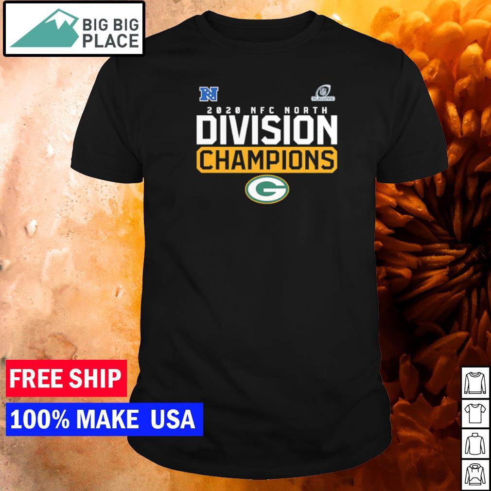 Green Bay Packers 2020 NFC North Division Champions shirt
