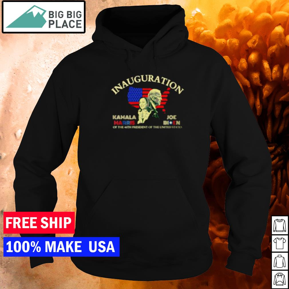 Inauguration Kamala Harris and Joe Biden of the 46th president of the United States s hoodie