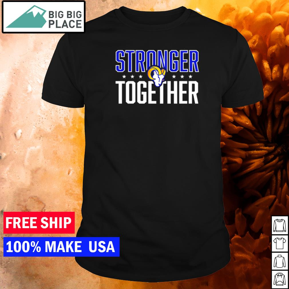 Los Angeles Rams stronger together logo shirt
