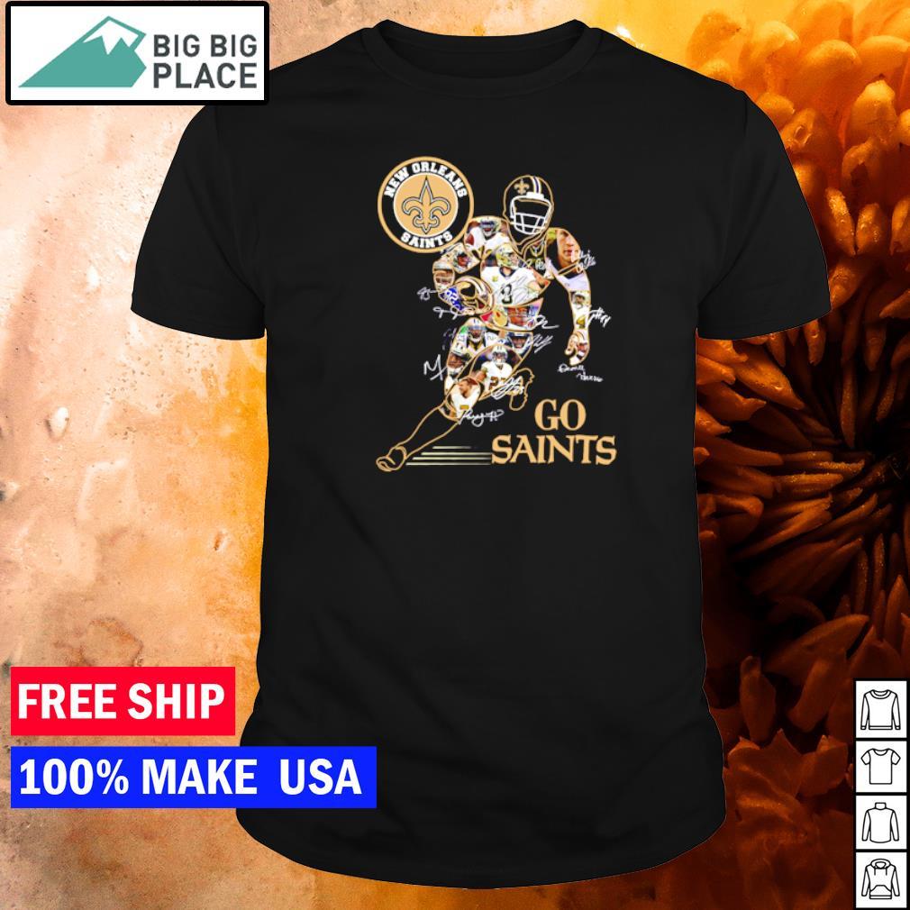 New Orleans Saints Go Saints player's signature shirt