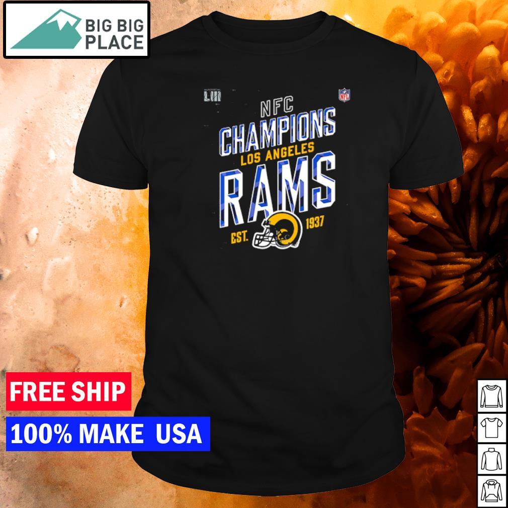 NFC Champions Los Angeles Rams est 1937 logo shirt