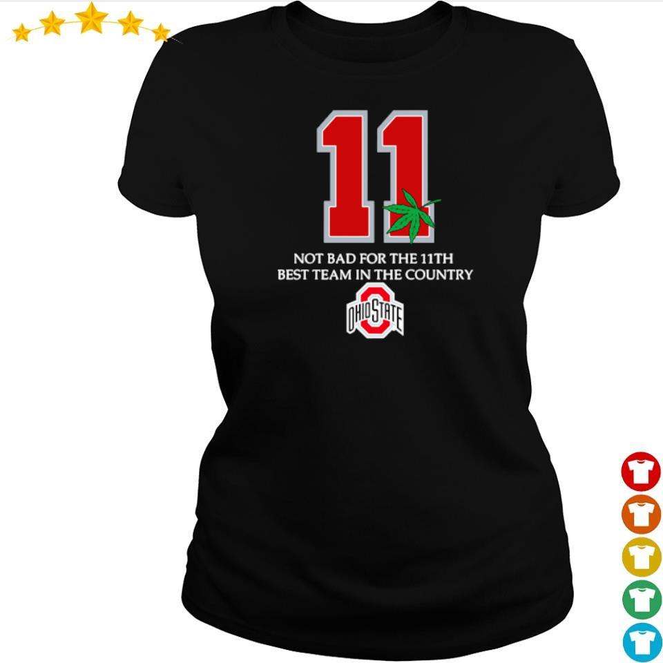 Ohio State Buckeyes 11 not bad for 11th best team in the country s ladies tee