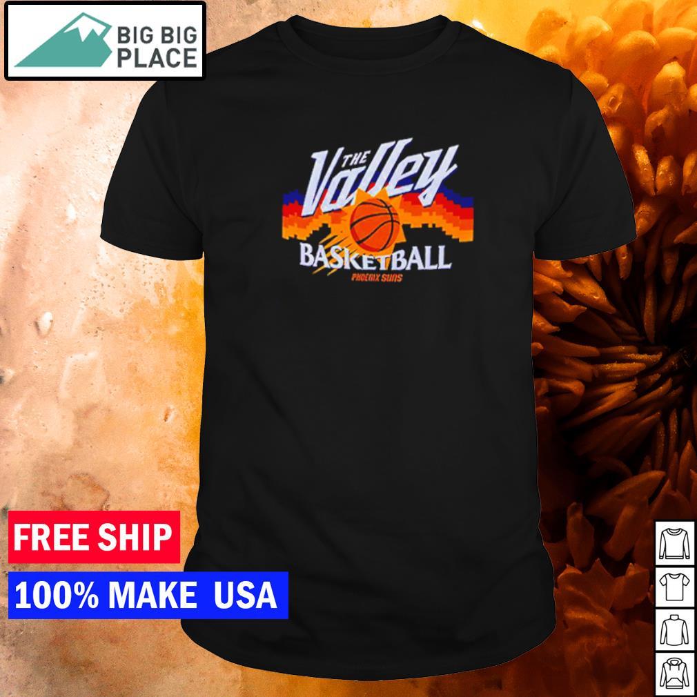 Phoenix Suns the valley basketball shirt