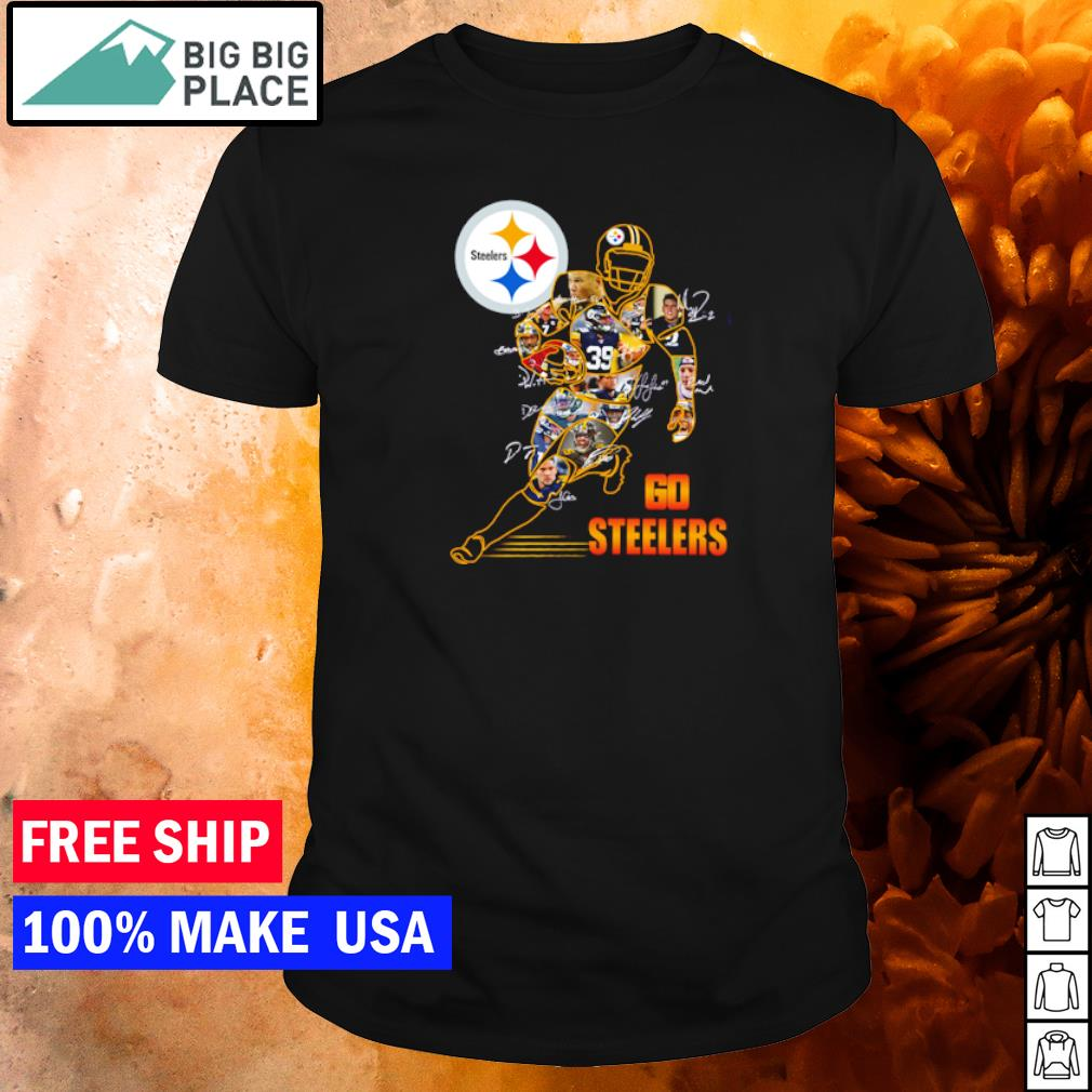 Pittsburgh Steelers Go Steelers player's signature shirt