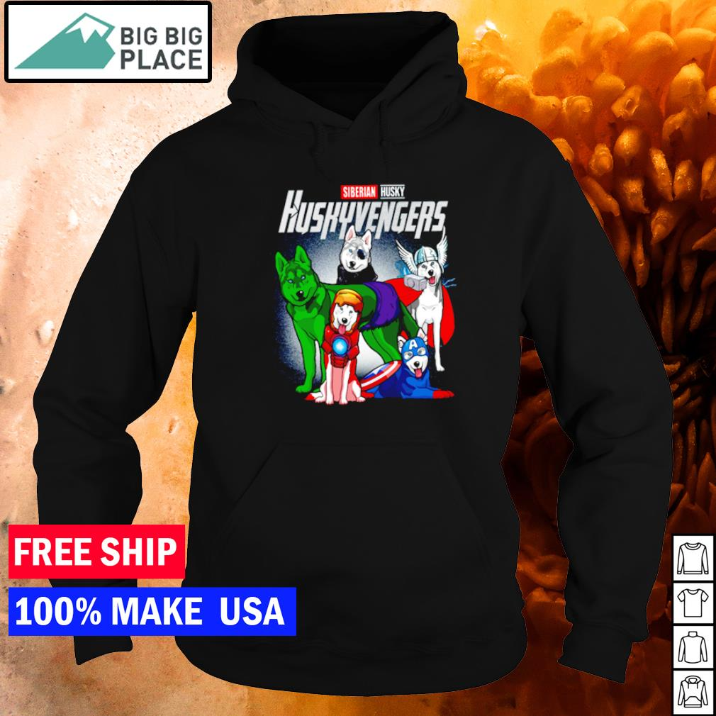 Siberian Husky Huskyvengers s hoodie