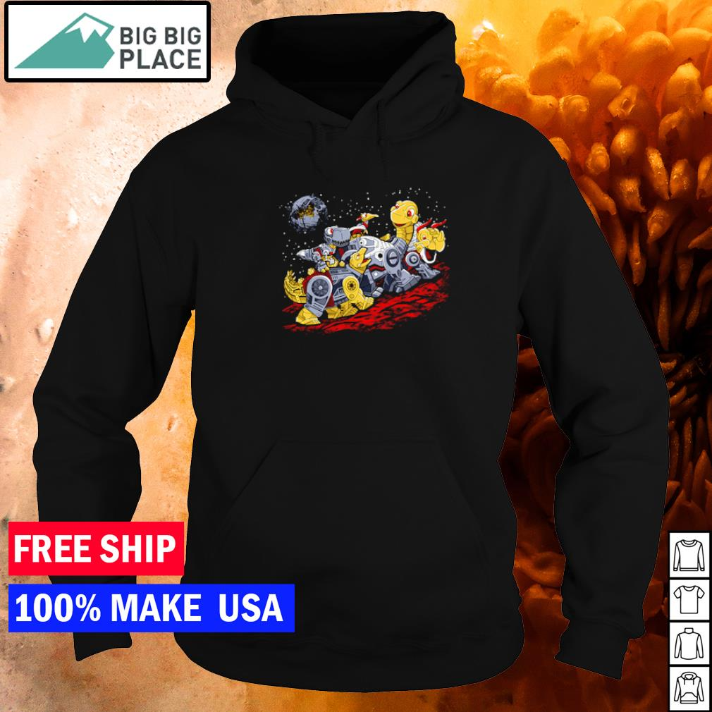 Star Wars Death Star Bots before time dinasour s hoodie