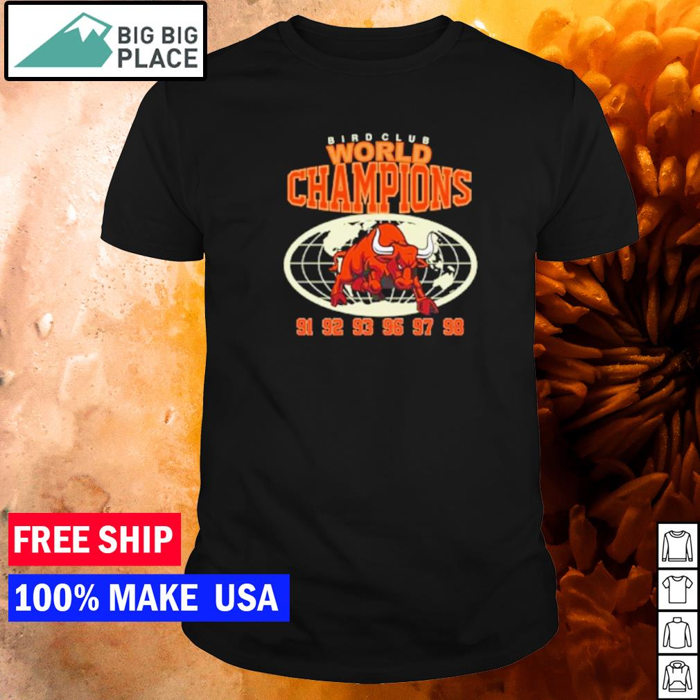 Starfish 13 Birdclub World Champions 91 to 98 shirt