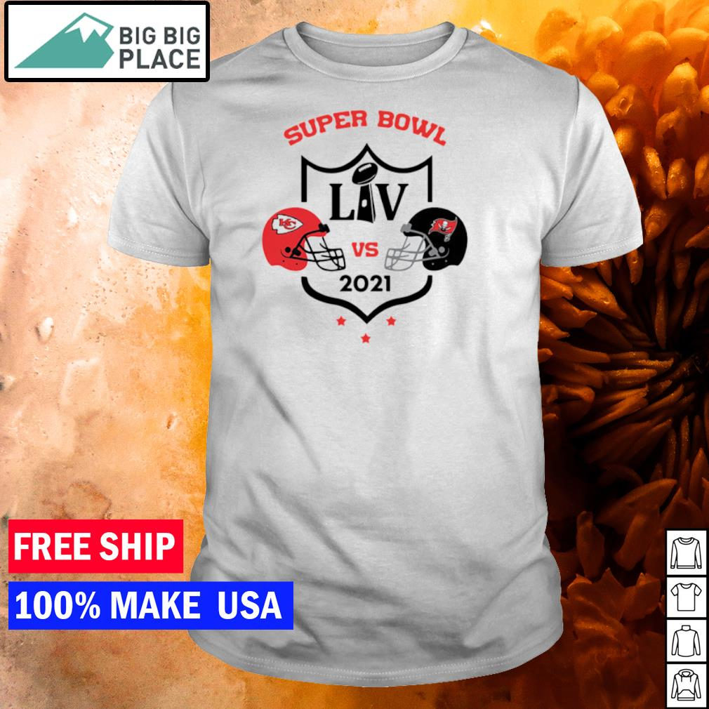 Super Bowl LIV Kansas City Chiefs vs Tampa Bay Buccaneers 2021 shirt