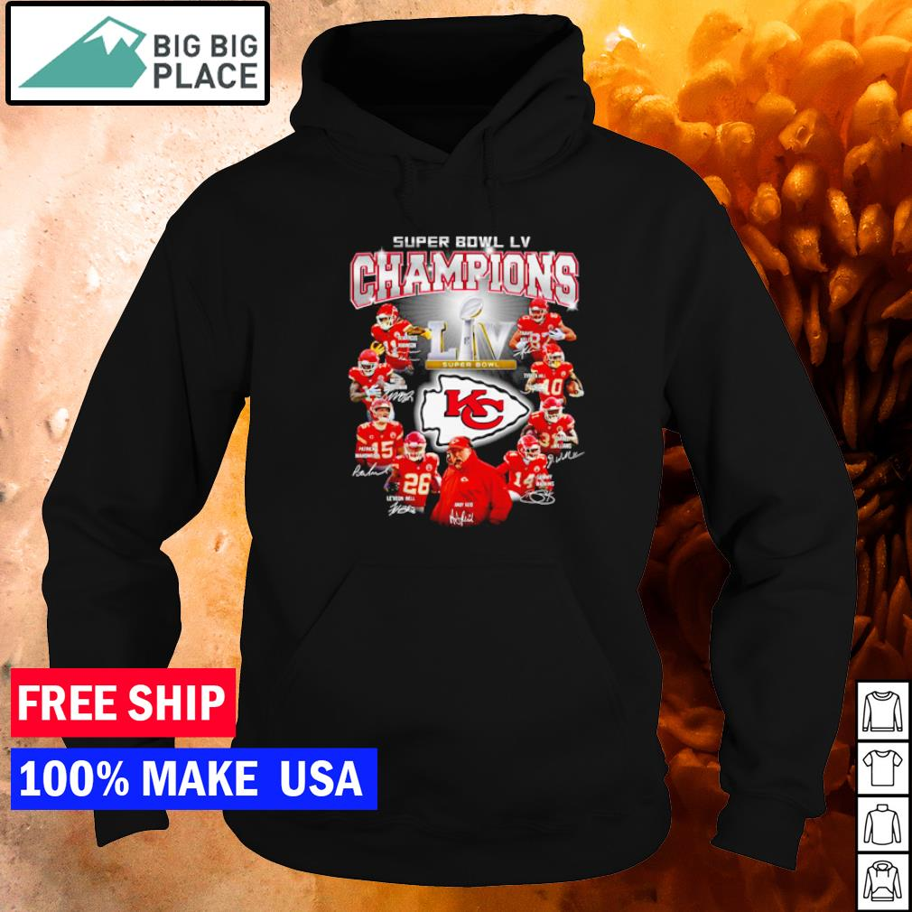 Super Bowl LV Champions Kansas City Chiefs s hoodie