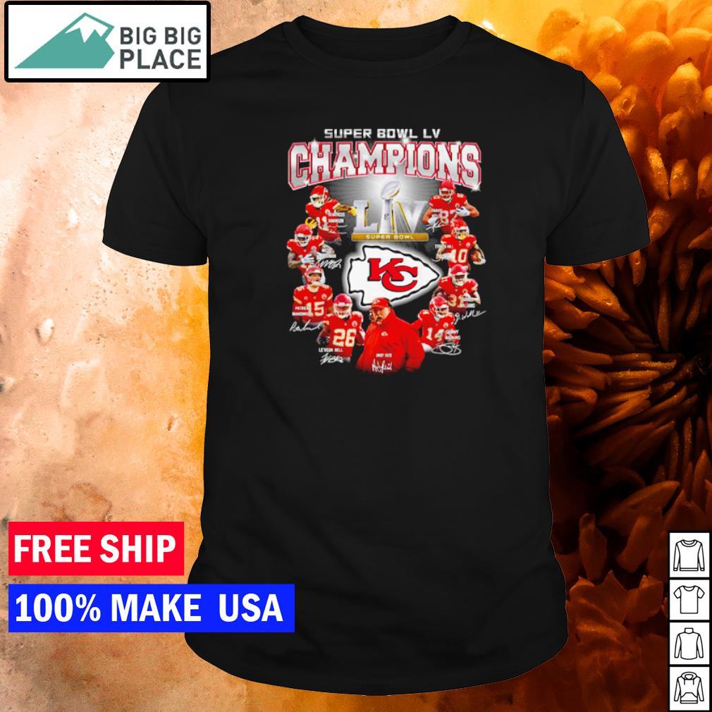 Super Bowl LV Champions Kansas City Chiefs shirt